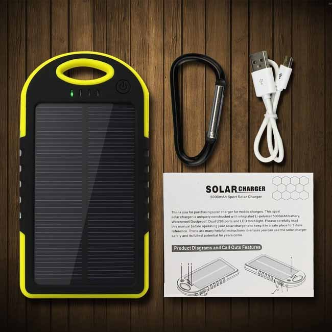 Solar Charger 5000mAh