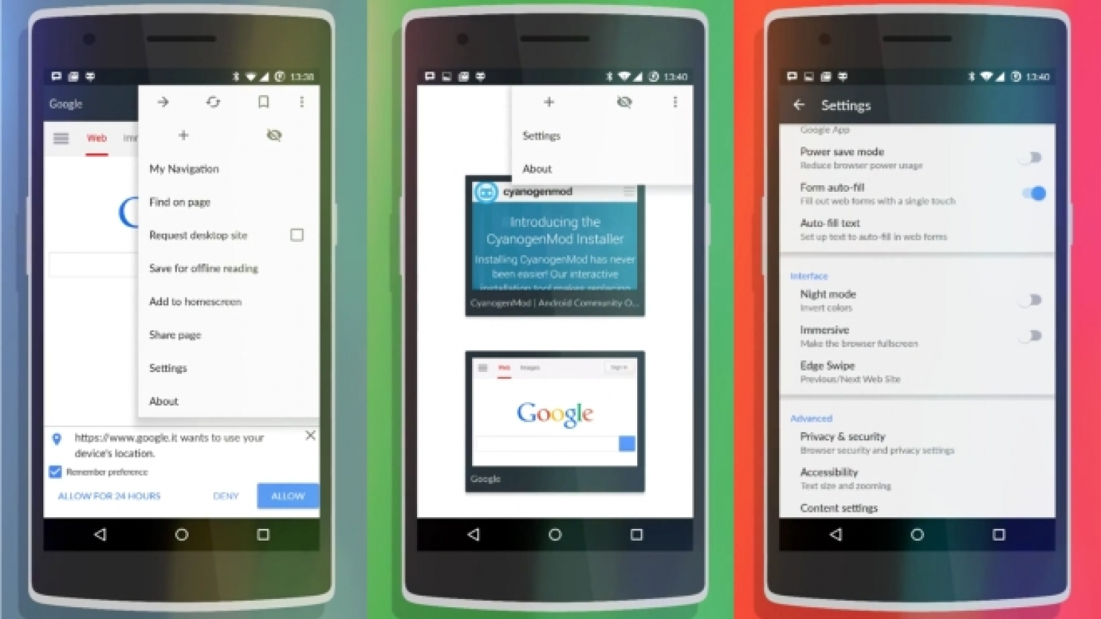 Android Browser