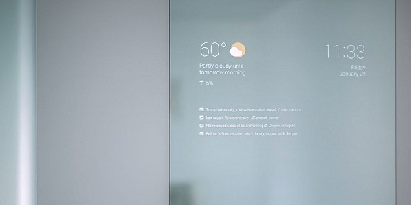 Smart Mirror Android created by Google programmer