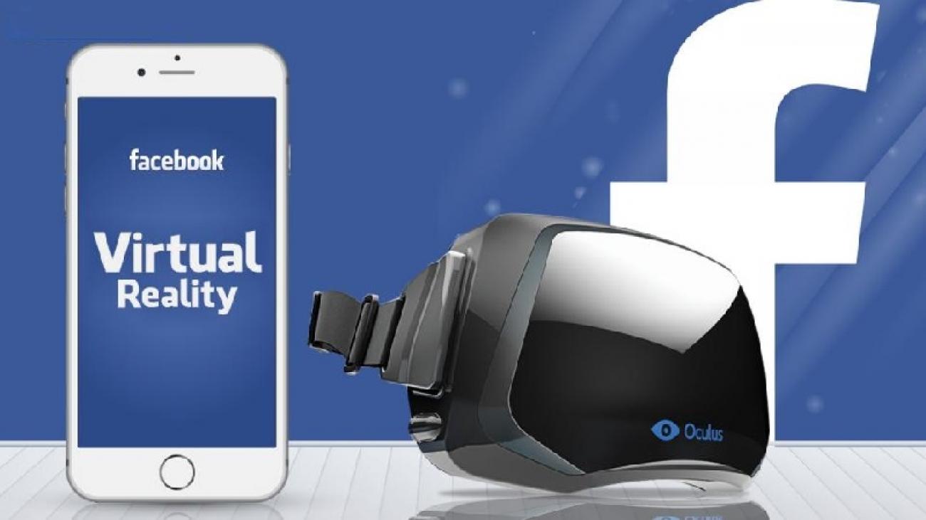 Virtual reality of Facebook