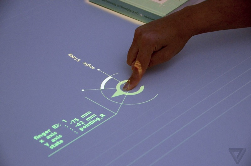 Transform any surface into an interactive screen is Sony's new project