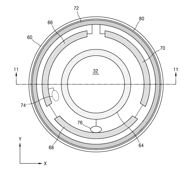 Contact lenses with built-in camera? At this point the new Samsung patent