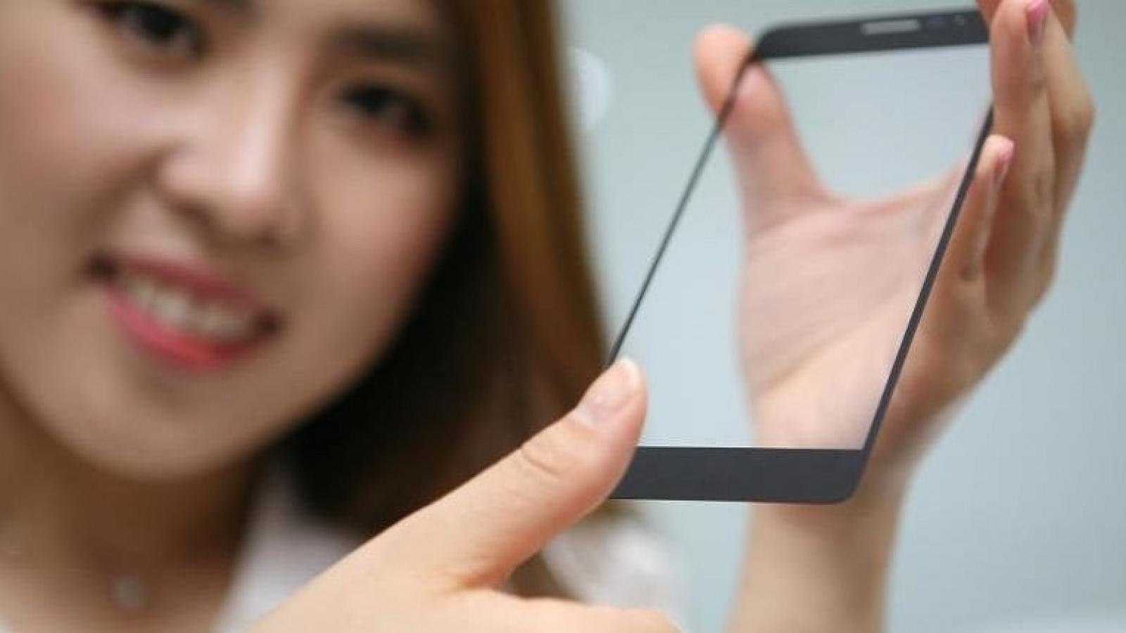 LG fingerprint sensor