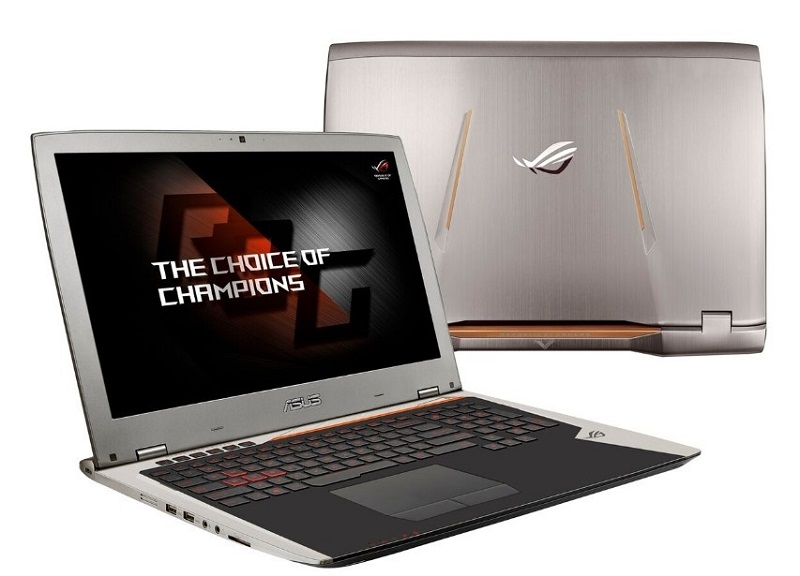 ASUS again let their hair with G31 ROG and ROG GX800 for gamers