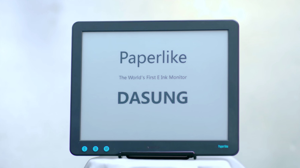 Paperlike, the first electronic ink monitor, is already on presale in Indiegogo