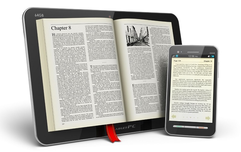 The future of the book is to read on mobile?