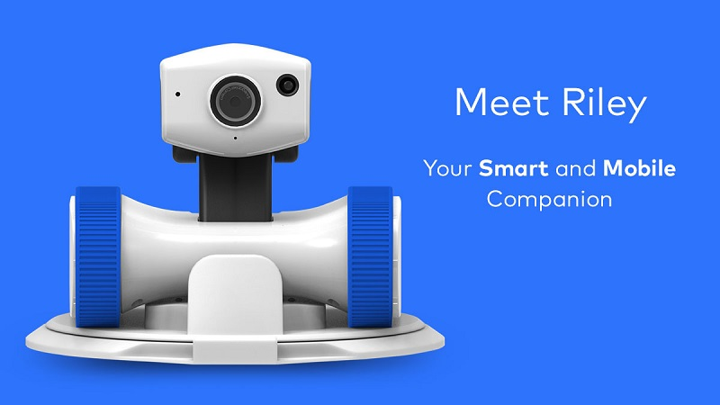 If looking for a robot to take care of your home but also look like a toy, Riley is the solution