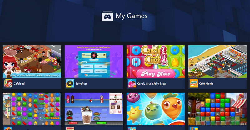 Facebook joins Unity to create a gaming platform Steam desktop style
