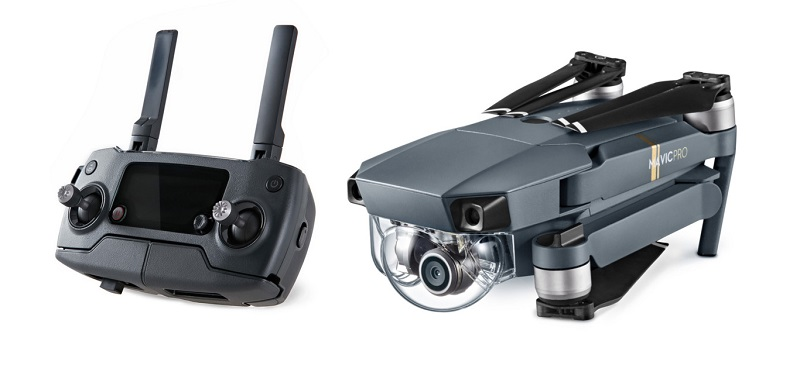 DJI Mavic Pro: This folding drone is not a toy and fits in a backpack