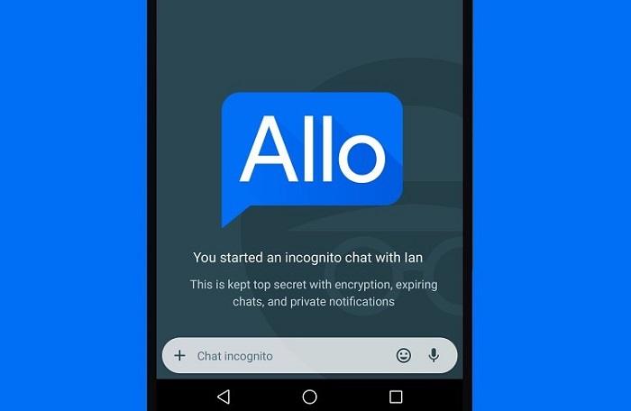 Google stores messages from Google Allo: If you want privacy there are other alternatives