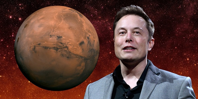 Elon Musk is planning a first colonies on Mars who live in glass domes