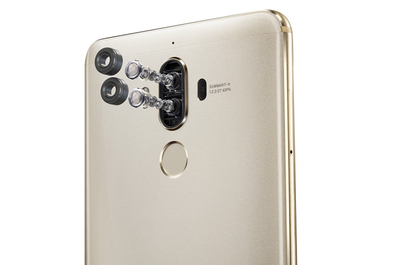 The Huawei Mate 9 2X zoom double camera