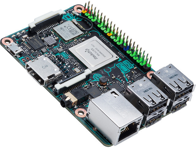 Asus Tinkerboard tries to compete with Raspberry Pi