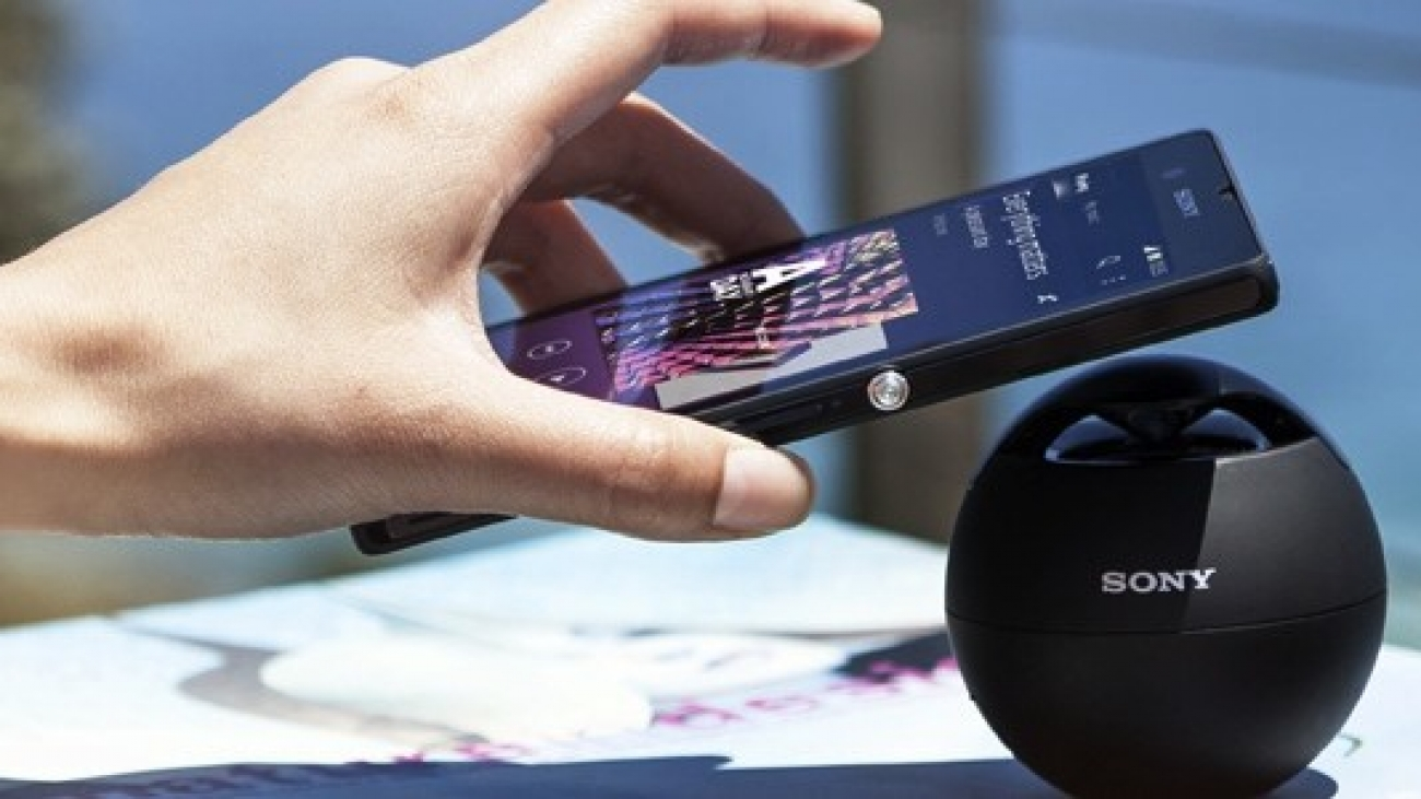 Sony charge wirelessly
