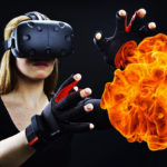 Feel cold, heat and pain when playing with virtual reality