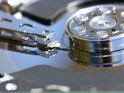The future of data storage can be in ultra freeze, but changing hard drives by molecules