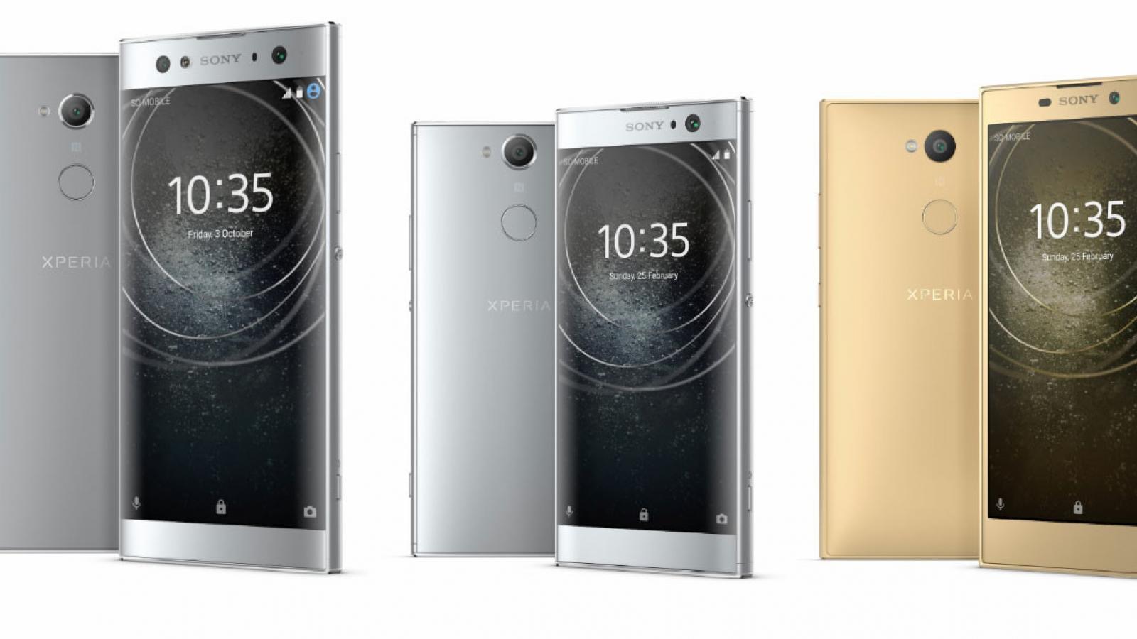 Sony Xperia XA2, Xperia XA2 Ultra and Xperia L2