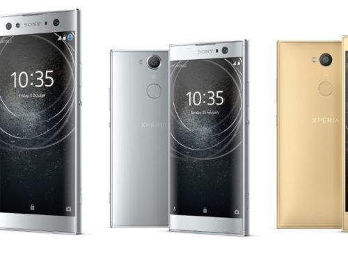 Sony Xperia XA2, Xperia XA2 Ultra and Xperia L2: The double front camera is integrated into the most traditional design