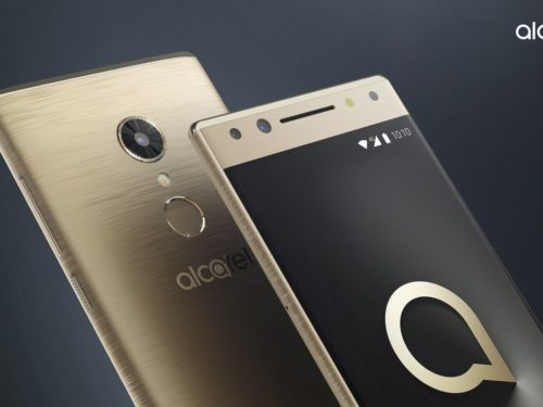 Alcatel 5, a mid-range with double front camera and 100-point facial recognition