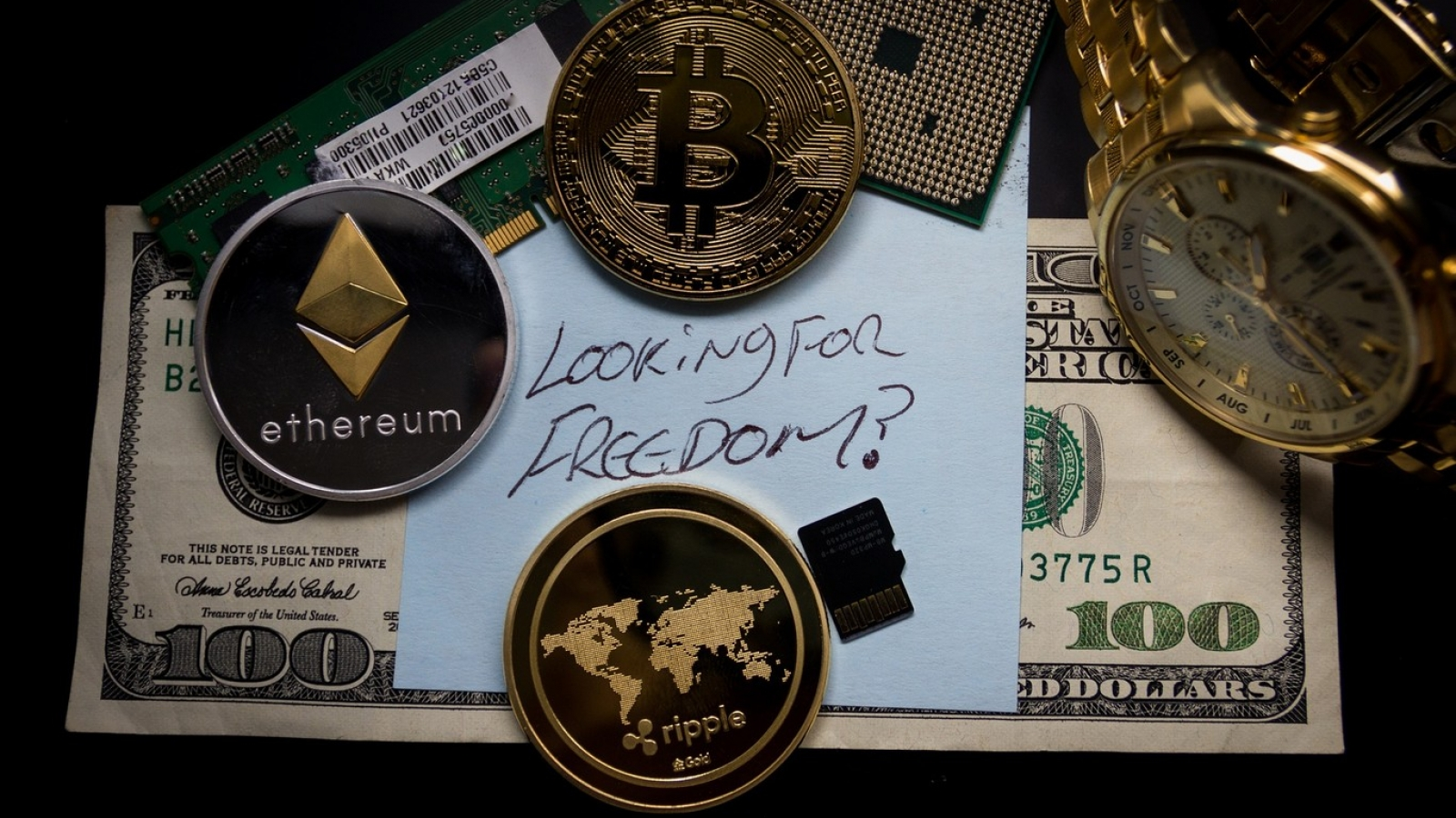 cryptocurrency, virtual currency and digital money