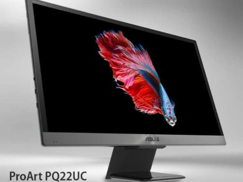 ASUS announces the new ProArt PQ22UC monitor