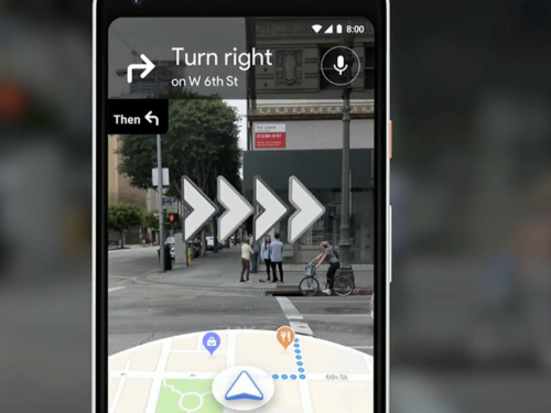 Augmented Reality comes to Google Maps