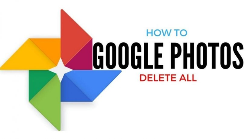 How to delete all photos from google photos