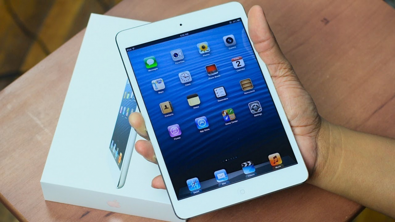 How to reset an ipad mini