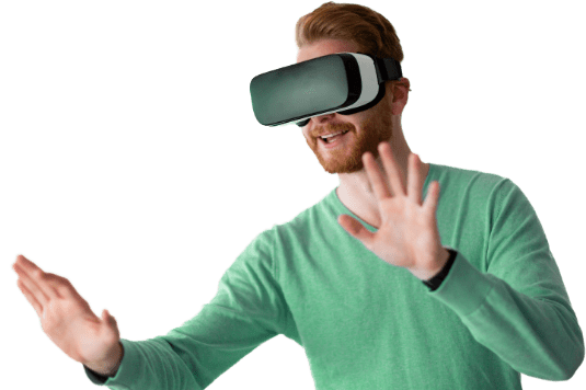 man-wearing-virtual-reality-headset-at-home-D7AYCTV-2